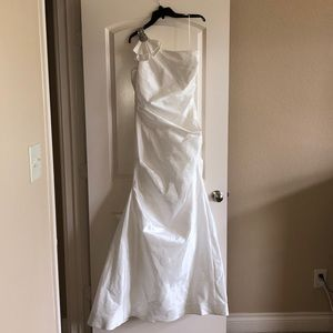 Rickie Freeman Teri Jon wedding dress